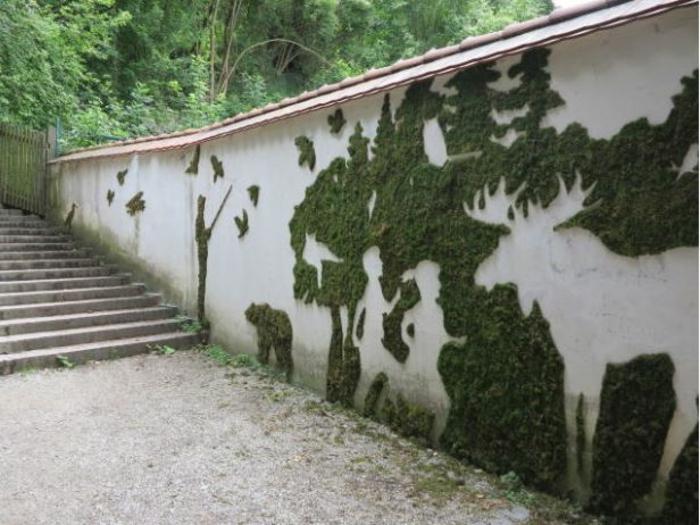 streetart künstler ornament zoo