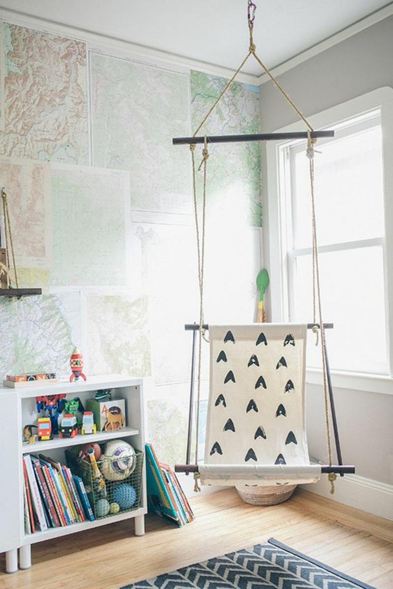 Mustertapeten Tapeten für Kinderzimmer praktische und kreative Wandgestaltung