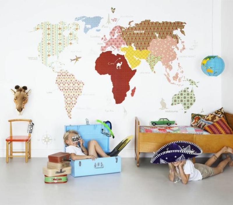 Kinderzimmer Tapeten Gestalten : Tapeten Kinderzimmer: Passende Farben und Motive ausw?hlen