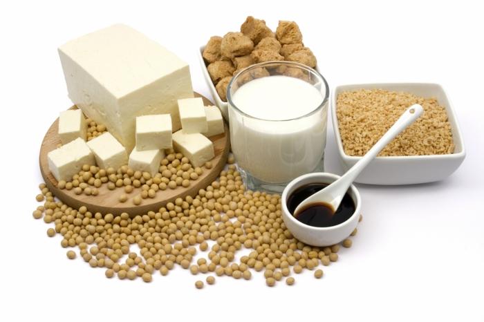 Omega 3 Fettsäuren Lebensmittel gesundes Essen sojasoße