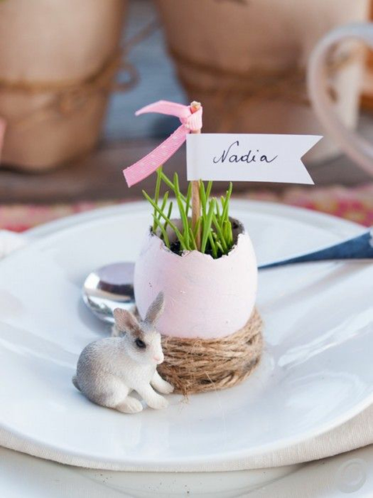 Osterdekoration Tischdeko Ideen zu Ostern
