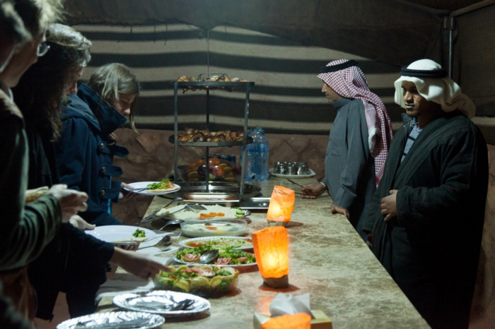 Petra Jordanien Hauptstadt Jordanien Das tote Meer strand caravan lager