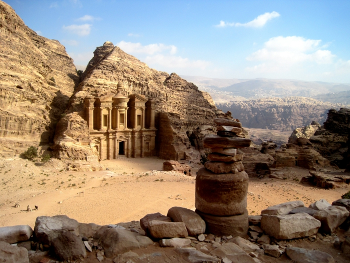 Petra Jordanien Hauptstadt Jordanien römische ruinen petra
