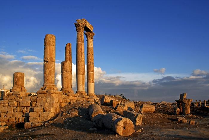Petra Jordanien Hauptstadt Jordanien römische amman