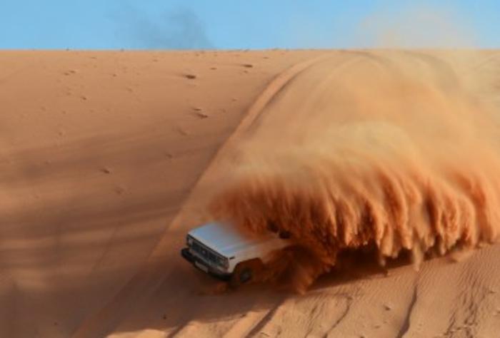 Petra Jordanien Hauptstadt Jordanien wüste dünen roter sand 2