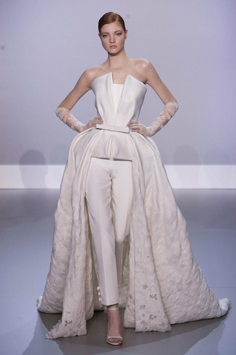 Ralph Russo Haute Couture Standesamt Kleid Brautmode Damenanzug
