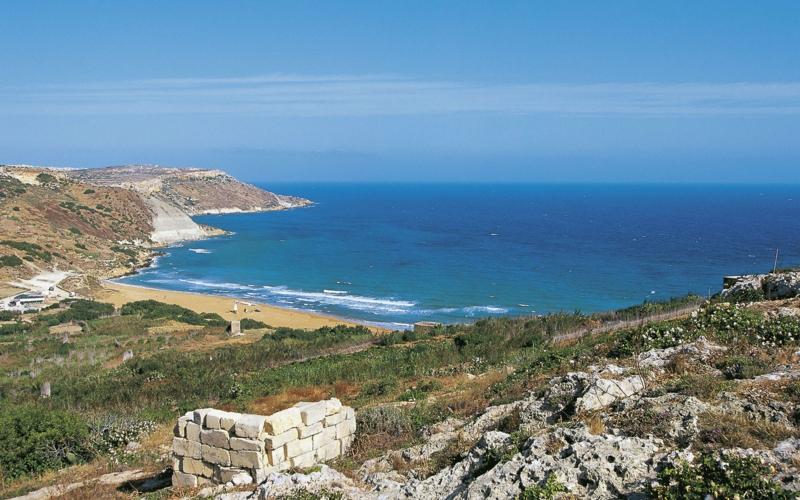 Ramla Bay Gozo die schönsten Strände der Welt