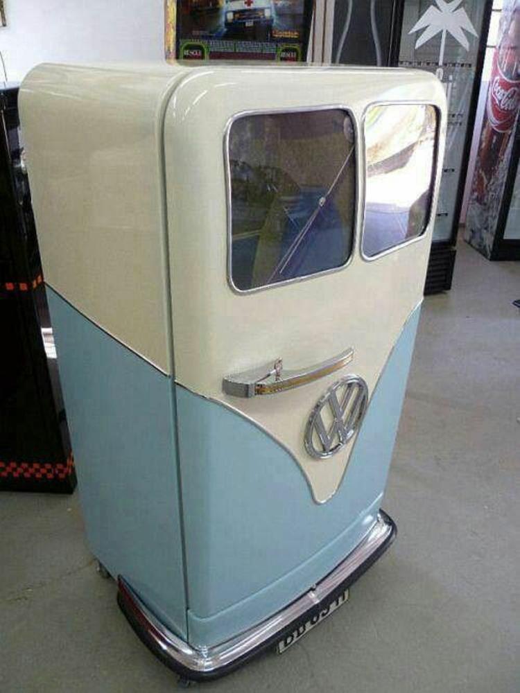 Retro Kühlschränke DIY Kühlschrank Volkswagen