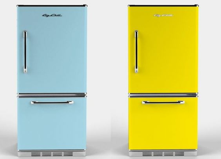 Retro Kühlschränke mintgrün Küchengeräte vintage Küchengestaltung