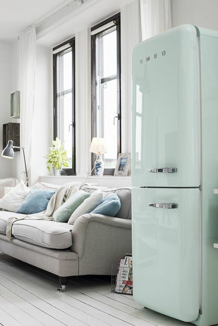 Perfekt Retro Kühlschränke Liegen Voll Im Trend | Einrichtungsideen ...