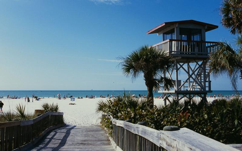 Siesta Beach Florida die schönsten Strände der Welt