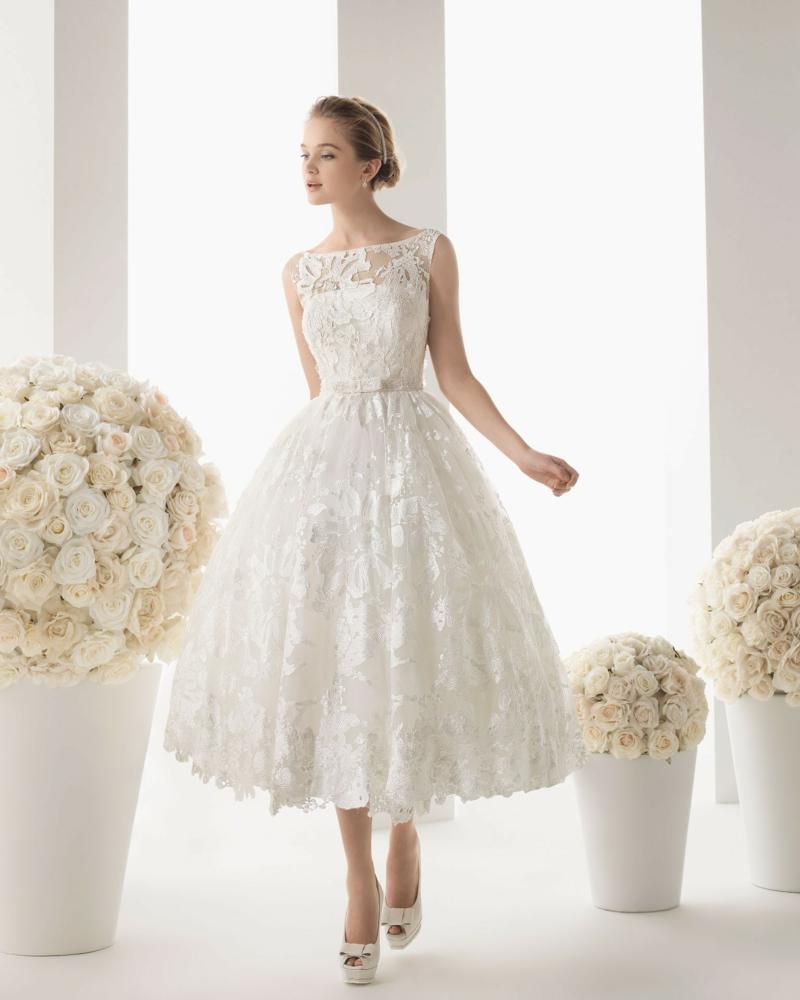 Standesamt Kleid Brautmode schöne Kleider weiß