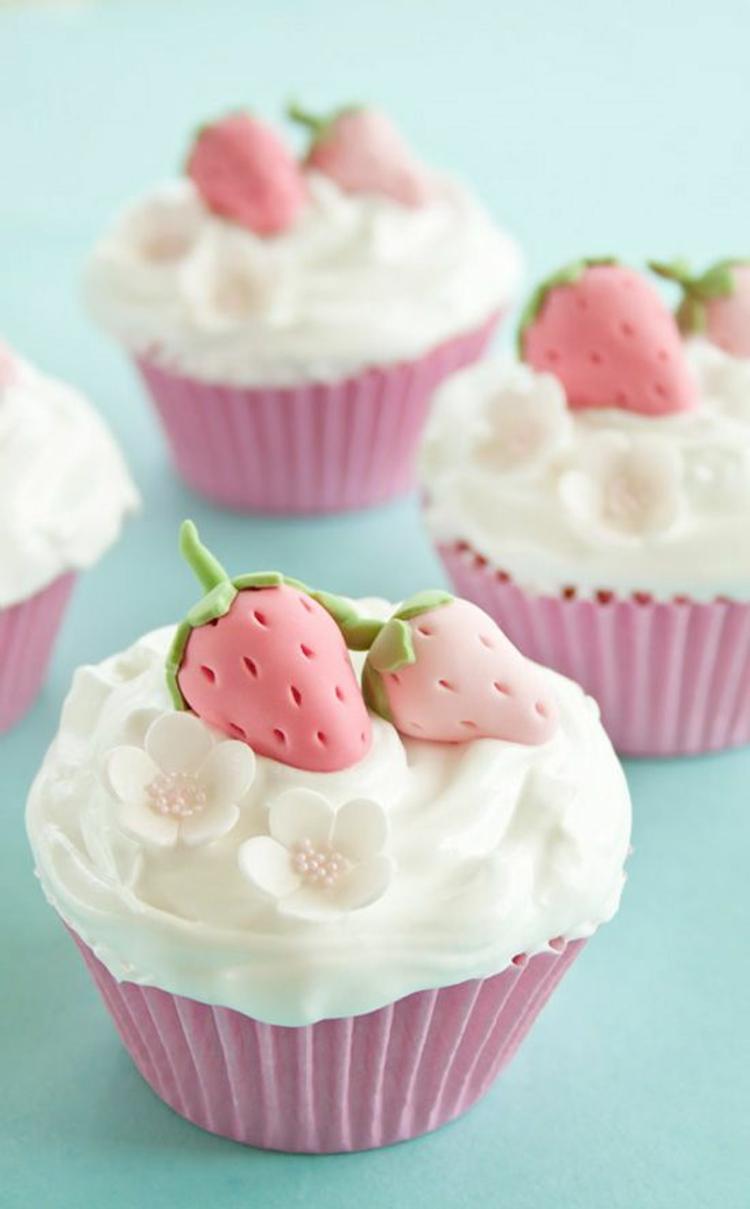 Törtchenzeit Erdbeertörtchen Cupcakes Rezepte