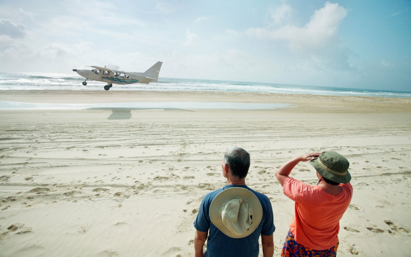 die schönsten Strände der Welt 75 Mile Beach Fraser Island Australia