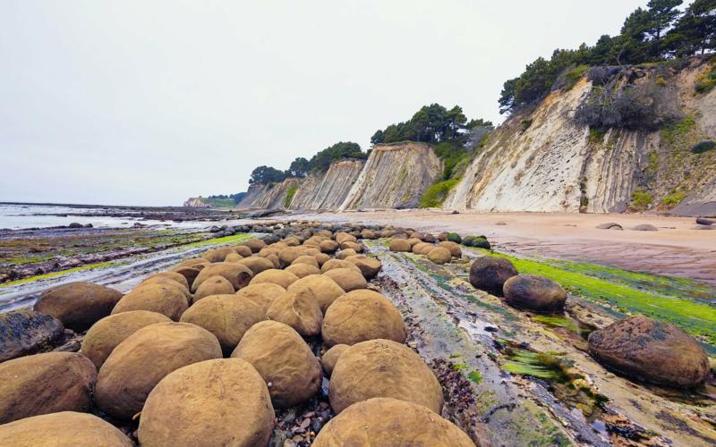 die schönsten Strände der WeltBowling Ball Beach Mendocino CA