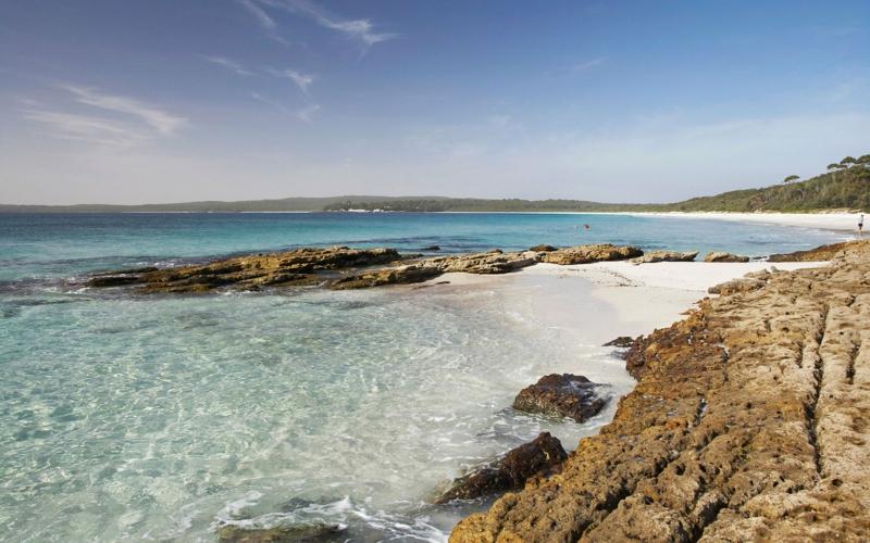 die schönsten Strände der Welt Hyams Beach Jervis Bay Australia