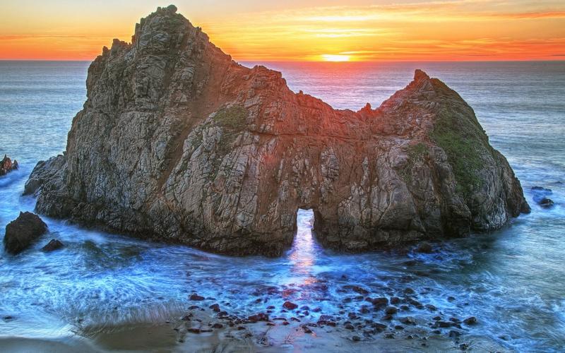 die schönsten Strände der Welt Pfeiffer Beach California