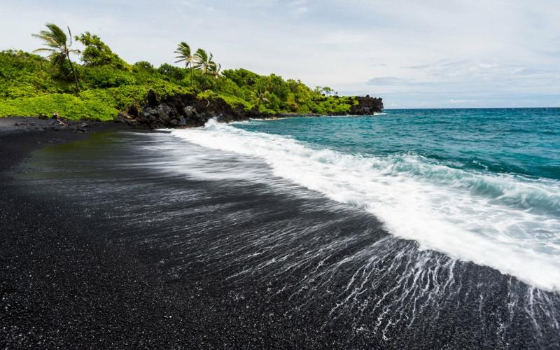 die schönsten Strände der Welt Punalu'u Beach Hawaii