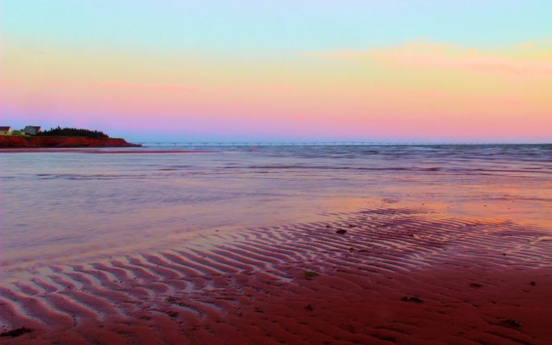 Traumstrände der Welt Thunder Cove Prince Edward Island die schönsten Strände der Welt