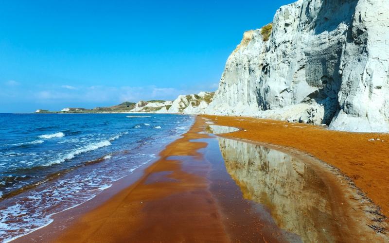 die schönsten Strände der Welt Xi Beach Greece