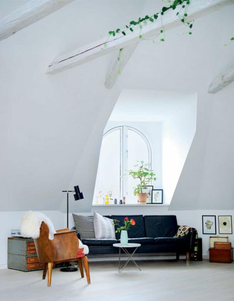Wohnung skandinavisch einrichten Designer Möbel Beistelltisch