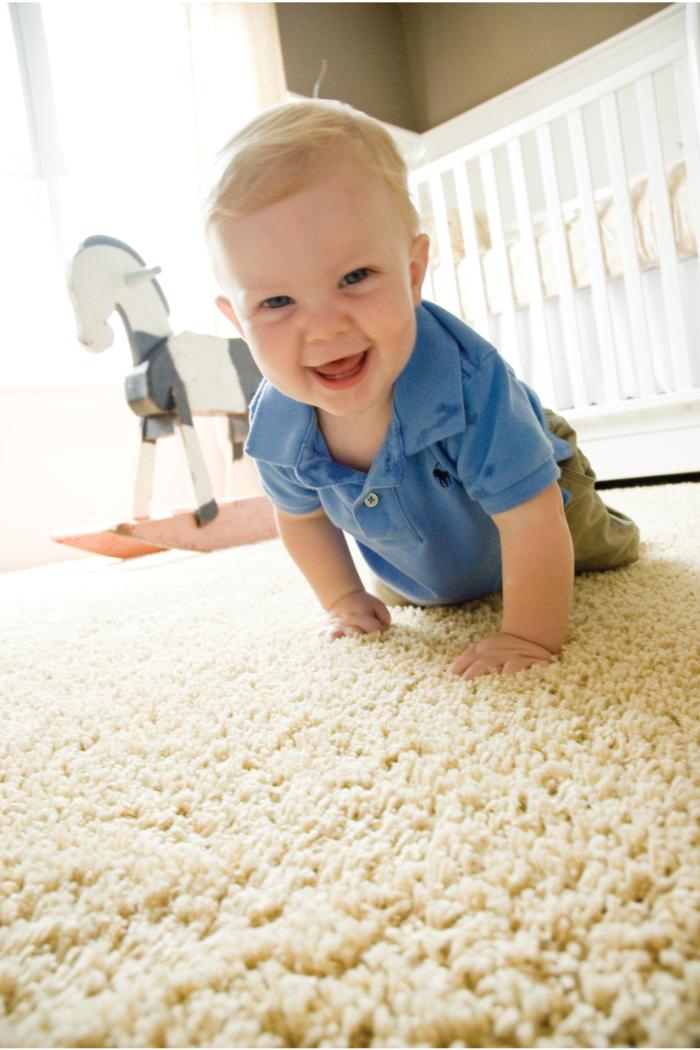 Wollteppich reinigen Wollteppich im Kinderzimmer