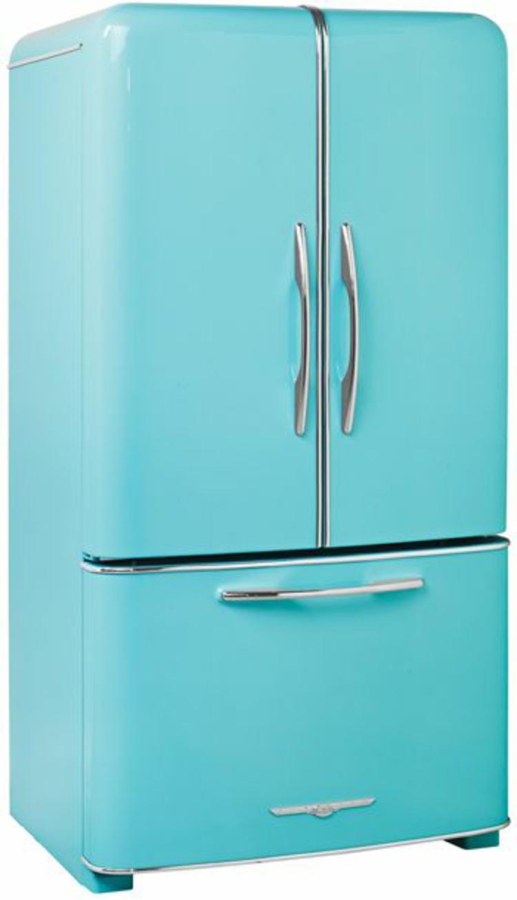 amerikanische Retro Kühlschränke mintgrün groß