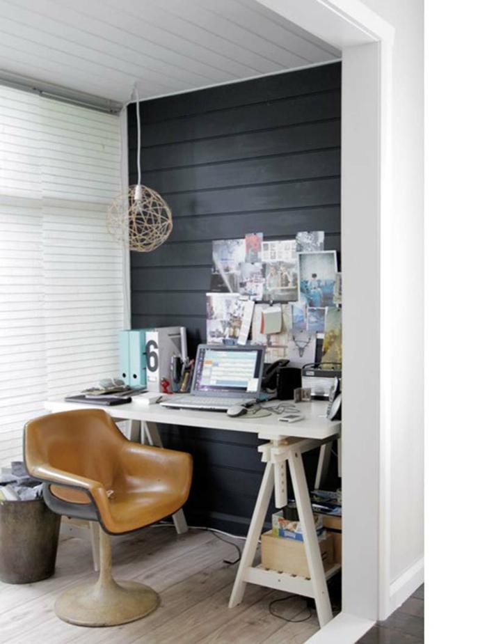 büroeinrichtungen bürostuhl leder kleines office einrichten