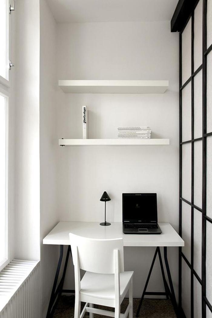büroeinrichtungen weiße einrichtung kleines home office