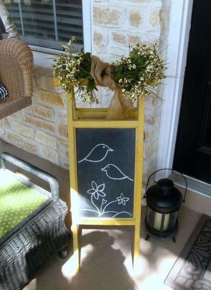 bastelideen fr hling naturmaterialien raum und m beldesign inspiration. Black Bedroom Furniture Sets. Home Design Ideas