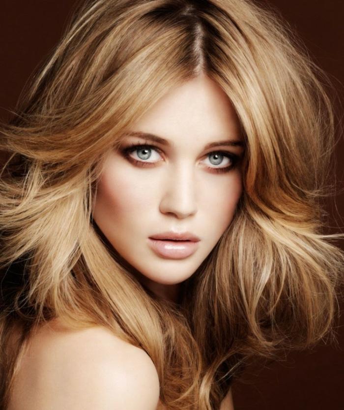 blondtöne blone haare honig