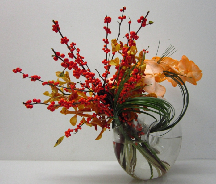 tischdeko orchideen