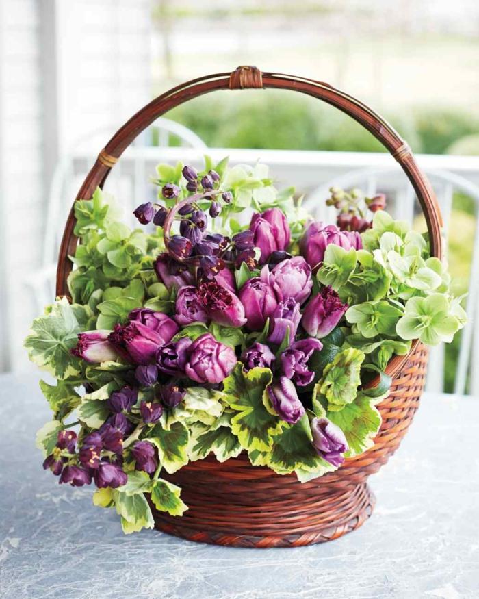 tischdeko tulpen knospen