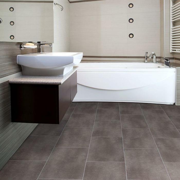 bodenbelag design badideen bodenfleisen badewanne schöne wandgestaltung