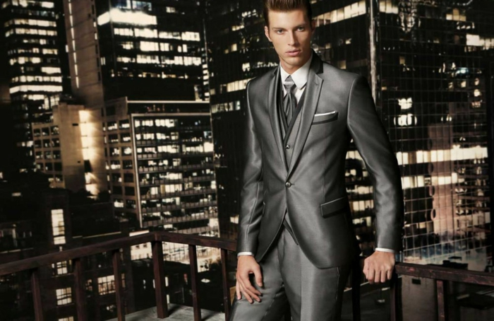 bräutigam mode hellgrau anzug kollektion 2016 haute couture maestrami