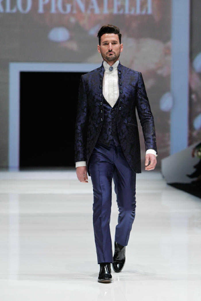 bräutigam mode männermode fashion show 2016 haute couture carlo pignatelli