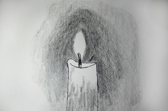 coole Zeichnungen zeichnen lernen übung kerze NEU