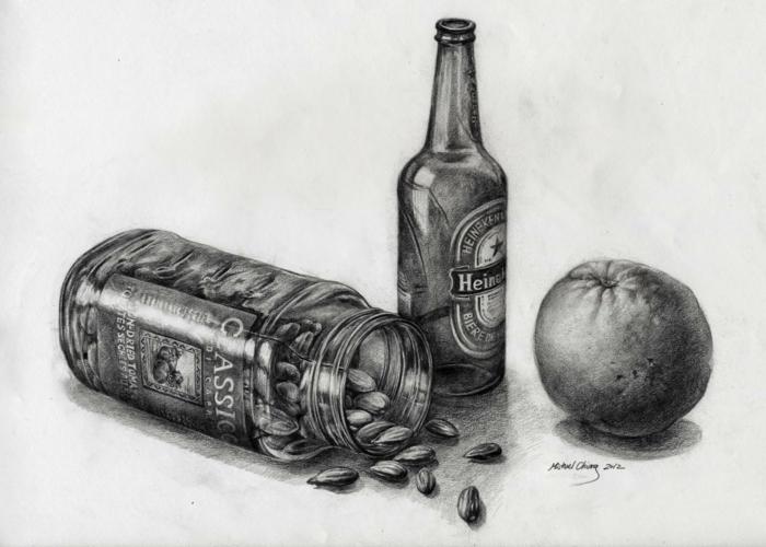 coole Zeichnungen zeichnen lernen bier übung