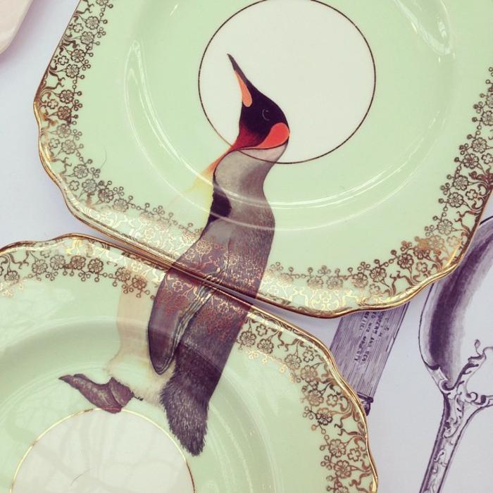 coole bastelideen tisch platten yvonne ellen tiere lustig farbig