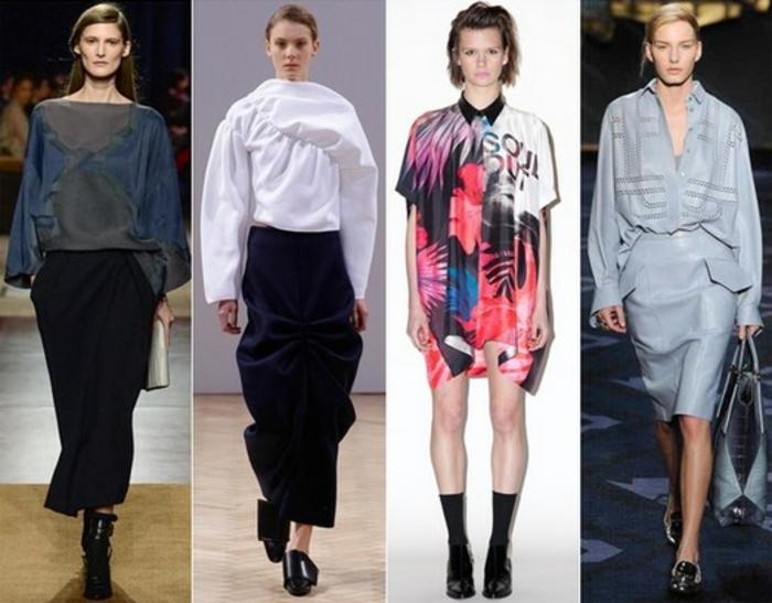 damenblusen tendenzen damenmode 2016 haute couture fotoprints