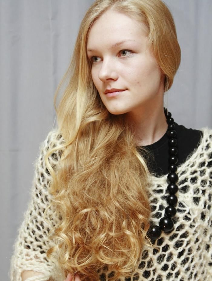 damenfrisuren honnig blond frisuren trends