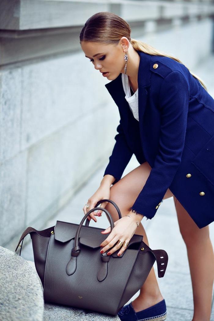 damentasche damenmode casual ledertasche fashion trends