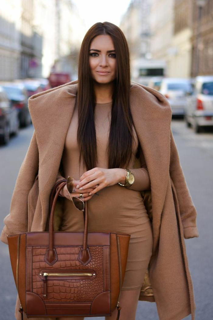 damentasche damenmode elegante bekleidung kleid mantel ledertasche