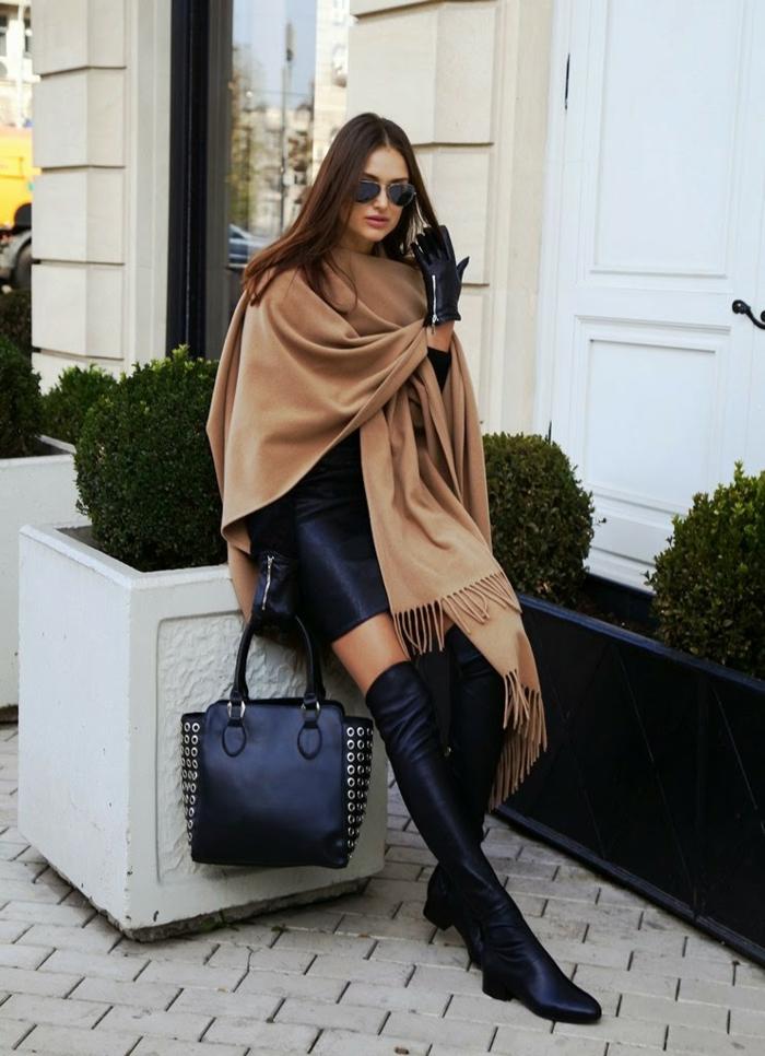 damentasche damenmode elegante kleider fashion trends schwarze ledertasche