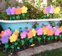 60 Bastelideen Frühling, die Sie zu neuer Deko inspirieren