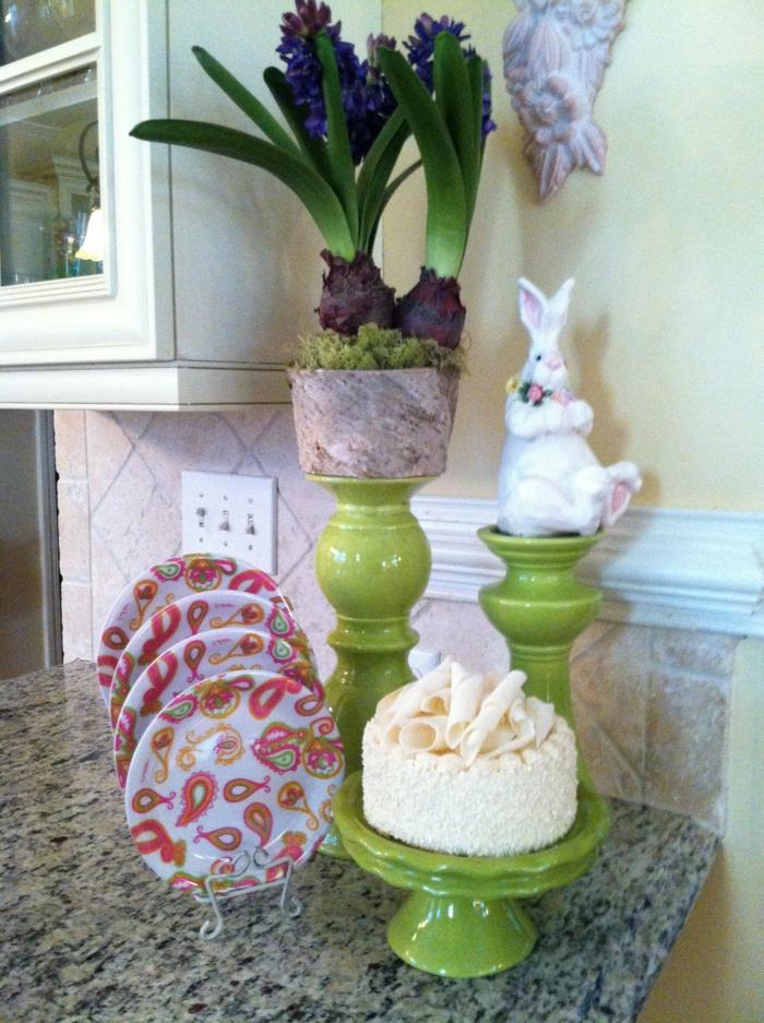 dekoideen frühling osterdeko küche dekorieren