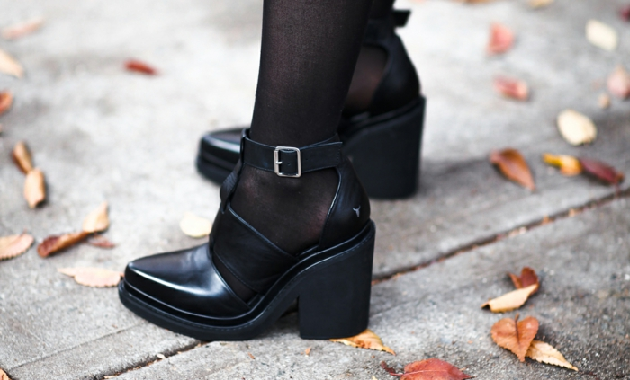 dresscode business fashion schuhe leder schwarz office mode