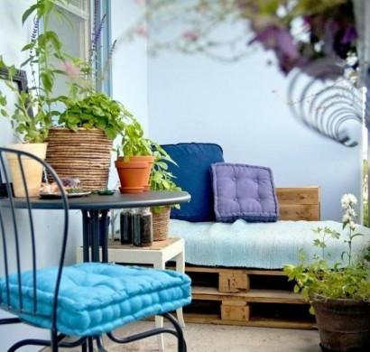 33 terrassengestaltung ideen f r mehr sommerlichen genuss - Europaletten balkonmobel ...