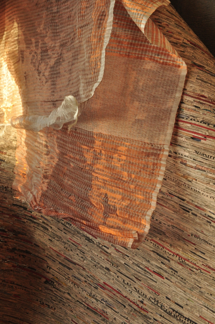 farbe kupfer innedesign leuchte wand tisch london textil