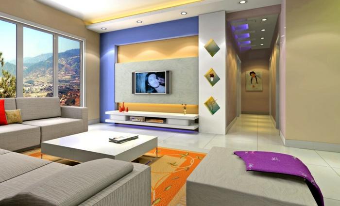 farbgestaltung wohnzimmer gelb ~ home design inspiration
